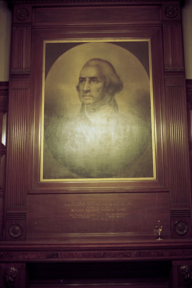 George Washington at the Armory, New York, NY