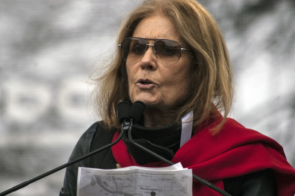 Photography image - Loading 01-_Gloria_Steinem_at_the_Women_s_march_copy.jpg