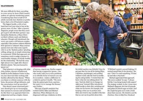 Prevention Magazine, November 2016
