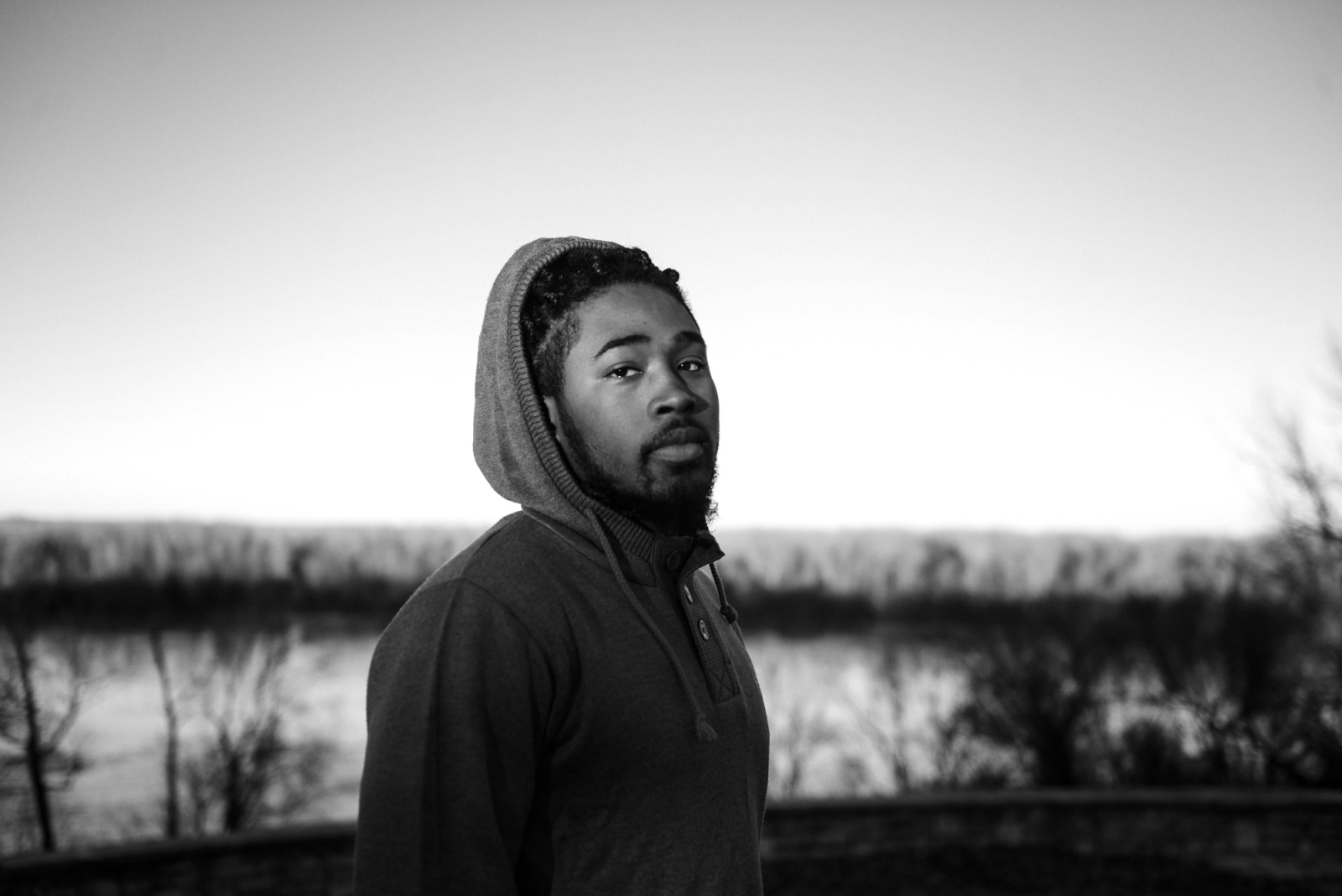 Marcellus Buckley / Marcellus Da Poet in Spanish Lake, a previous site where the Spanish kept African American slaves.