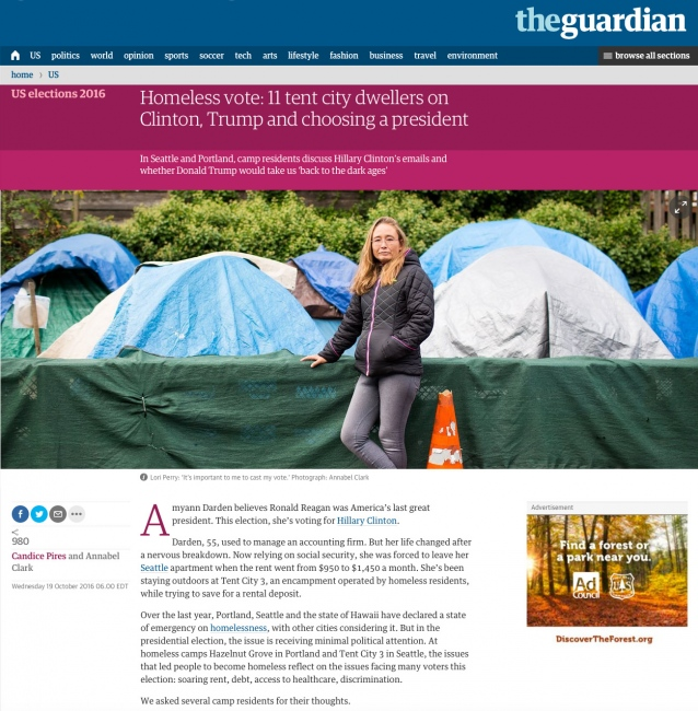 The Guardian, October 2016