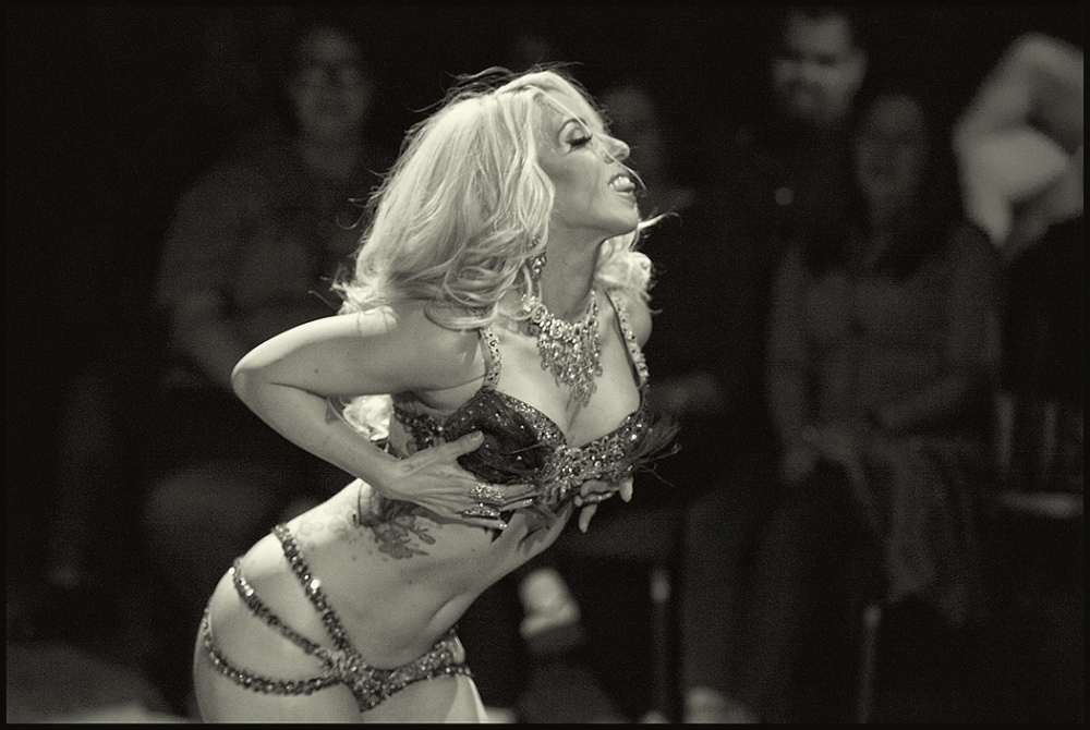 Maxi Millions, Burlesque performer. Phoenix, Arizona, September 2015.