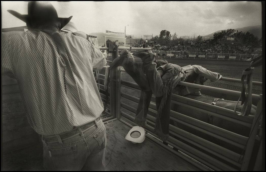 Professional Rodeo, Red Lodge, Montana, July 4, 2015.