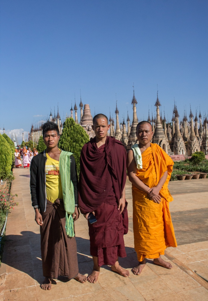 Myanmar, 2017 Modern Monks