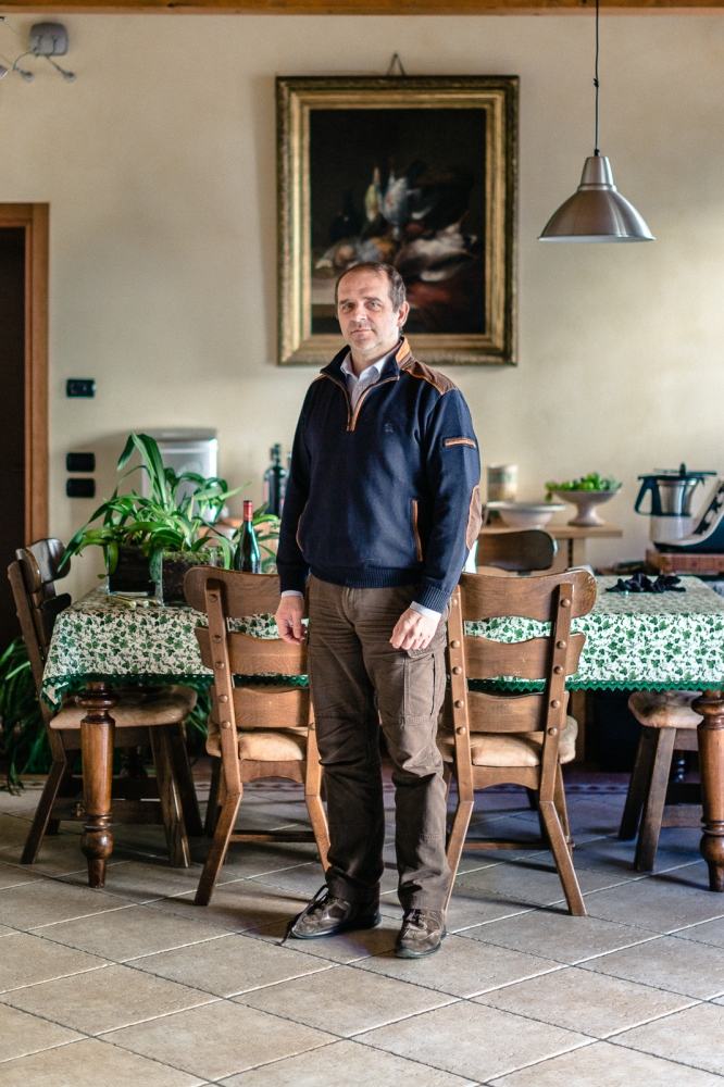 Luigi Caprara. Farmer.Farm Villa Medici. Sommacampagna, Verona