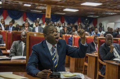 Haiti's Parliament vote a PM