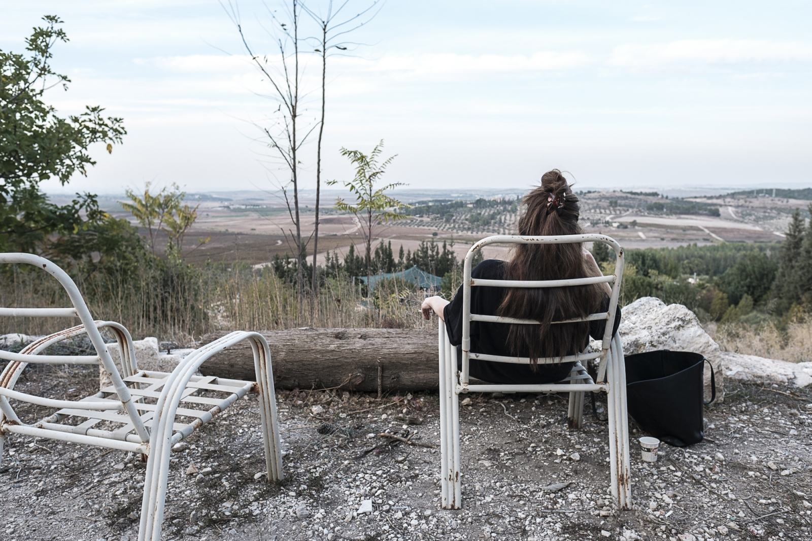 Wahat al-Salam – Neve Shalom (Oasis of Peace), Lod, Israel Woman Looking at the Ayalon Valley
