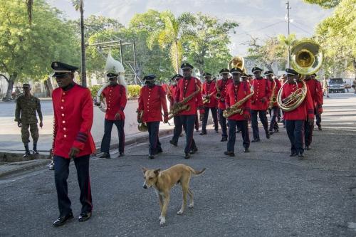 Michelle Bachelet Visite Haiti
