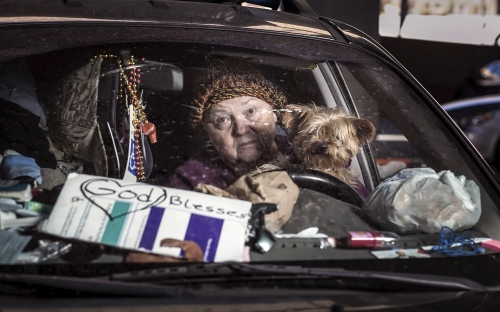 Structure Out Of Chaos:  Shantytowns of America's Homeless