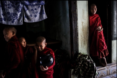 Buddhist monks dormitory © Fatemeh Behboudi