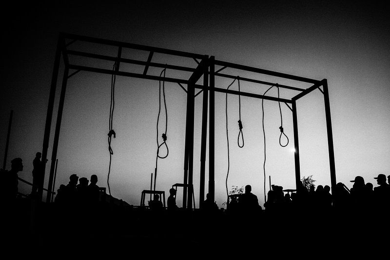 Execution place 4 people were executed because of gang rape at a wedding _ isfahan 2012 © Fatemeh Behboudi