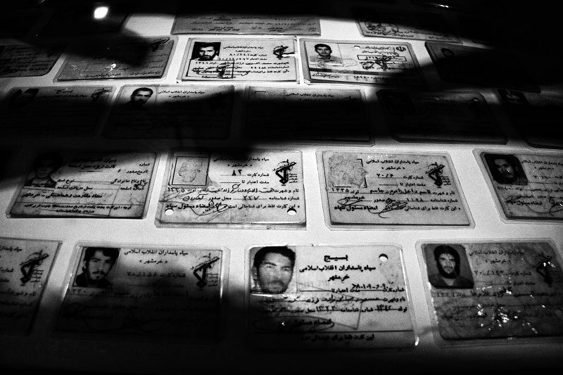 the images of Iranian soldiers that Who were killed during the occupation and liberation of Khorramshahr © Fatemeh Behboudi