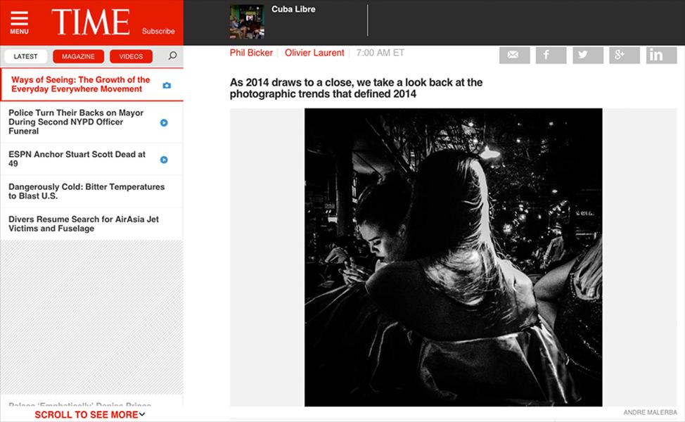Time.com, January 2015.