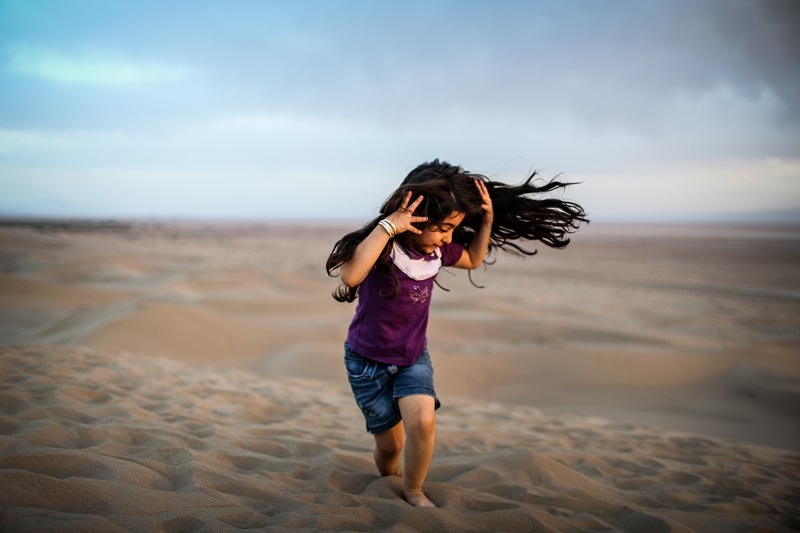 Dance With The Wind / iran /yazd city - March...