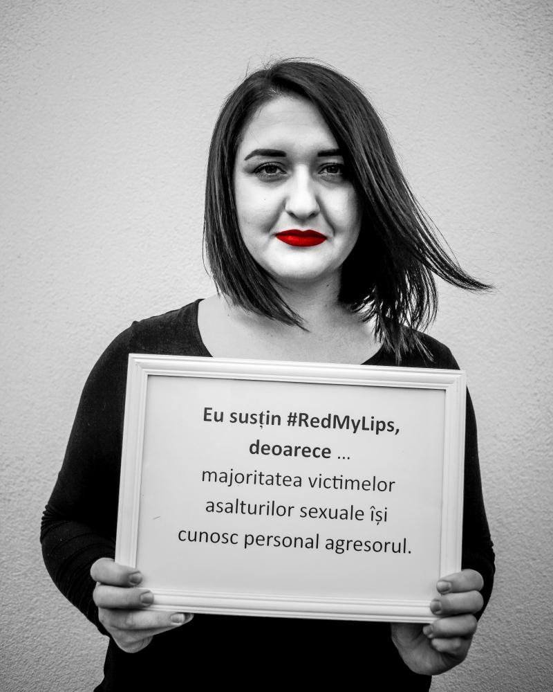 Eu susțin #RedMyLips, deoarece … majoritatea...