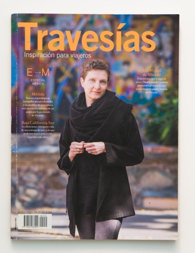 Travesias Magazine/ Revista Travesias_ 2014.  Mexico.