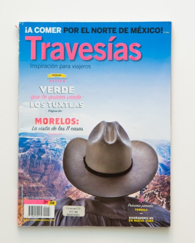 Travesias Magazine. Mexico, 2014.  Mexico.