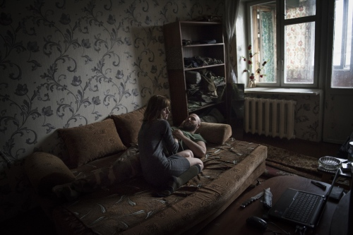 Donbass stories - Spartaco and Liza