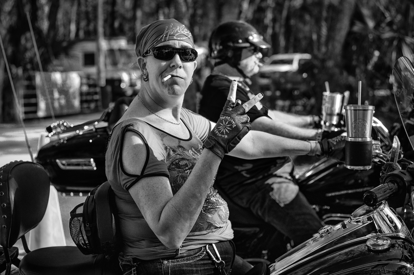 Bikers-Pioneer Trail & SR 415, Florida