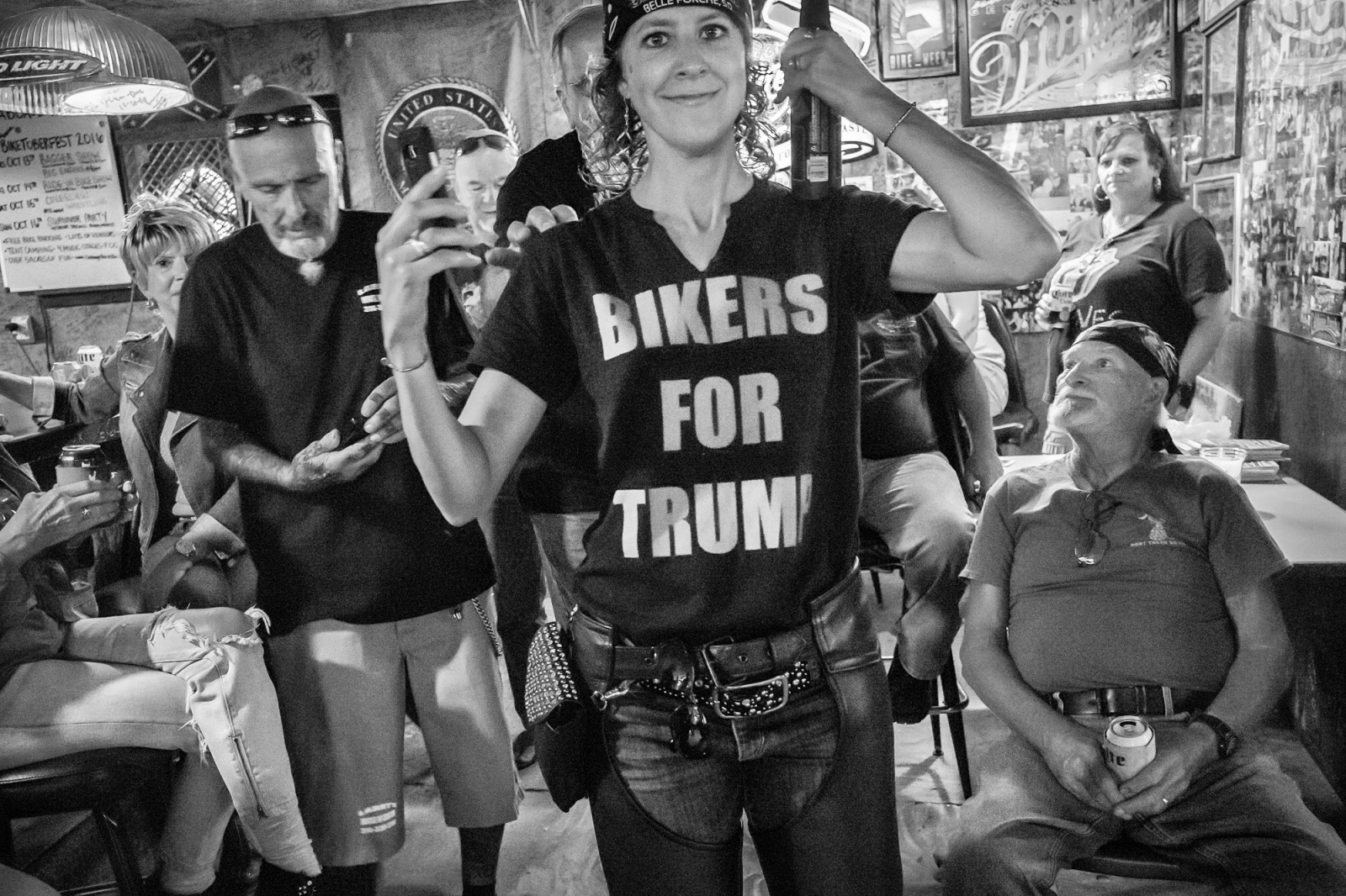 """BIKERS FOR TRUMP"""
