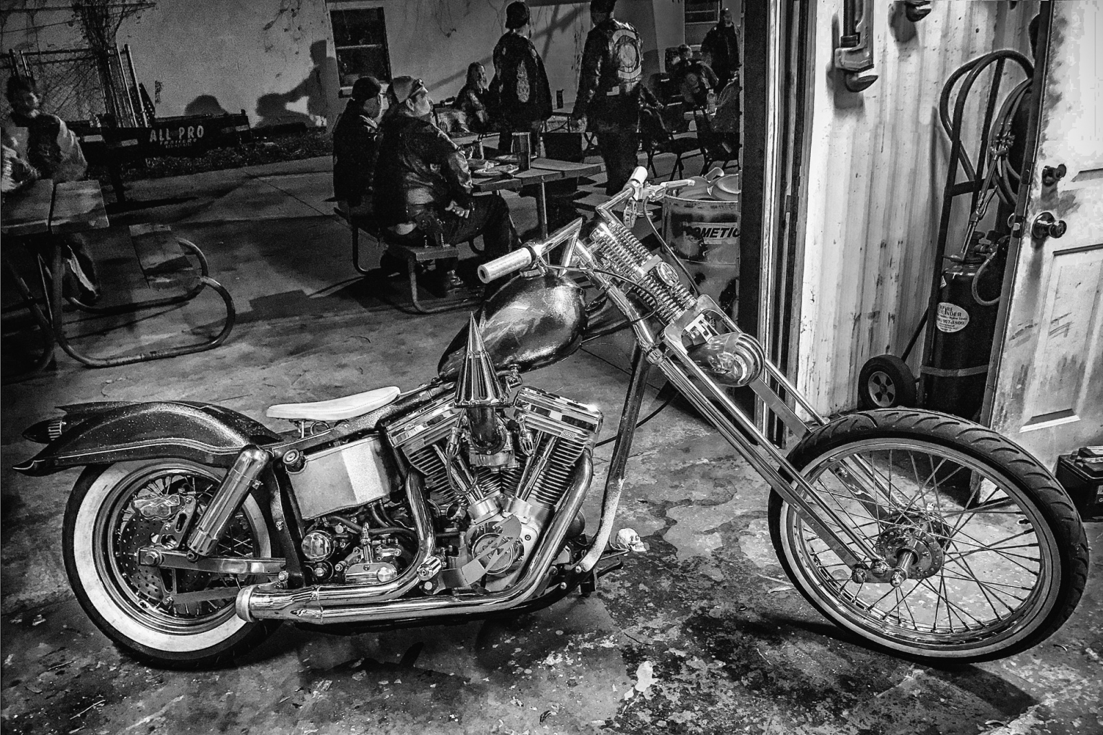 Custom Motorcycle, Edgewater, FL