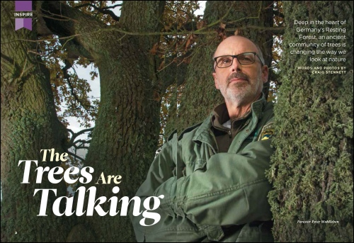 'The Trees are Talking'- Readers Digest (UK)     Germany
