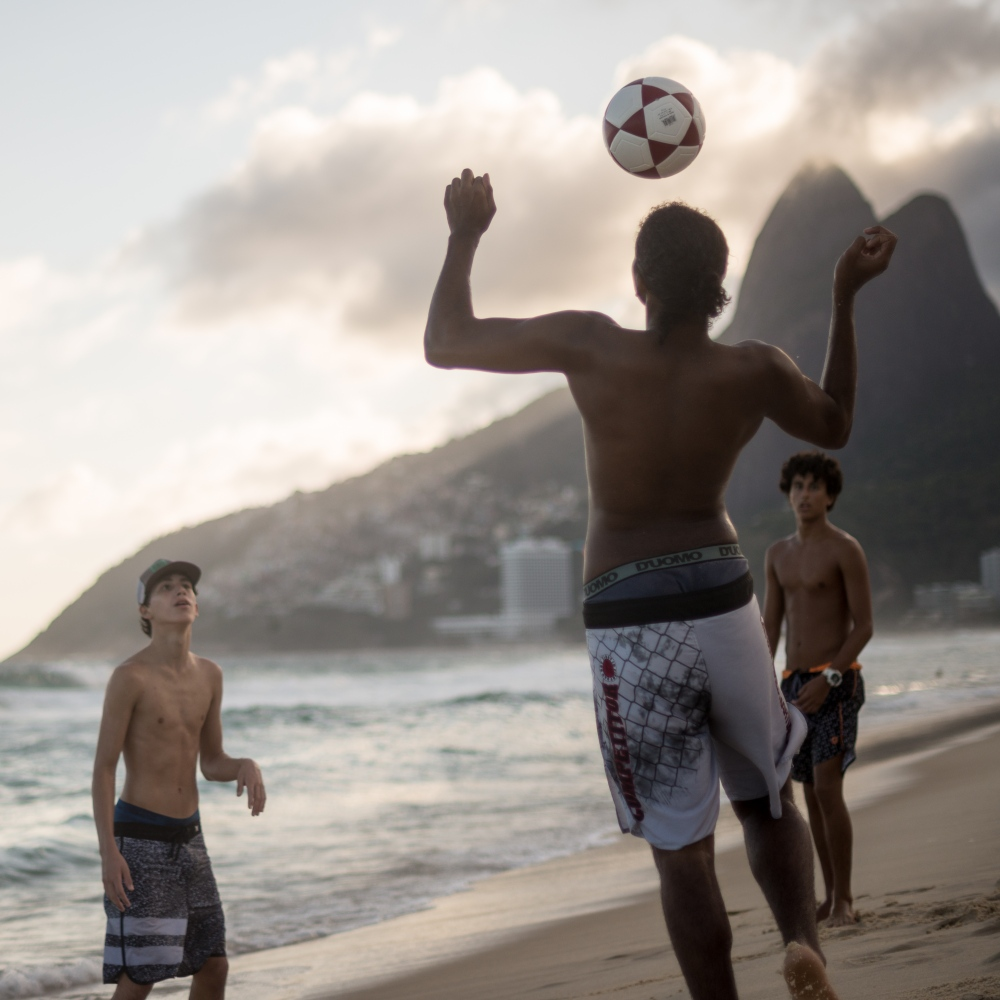 Art and Documentary Photography - Loading Brazil2017IpanemaSunsetSoccerSquare2-2.jpg