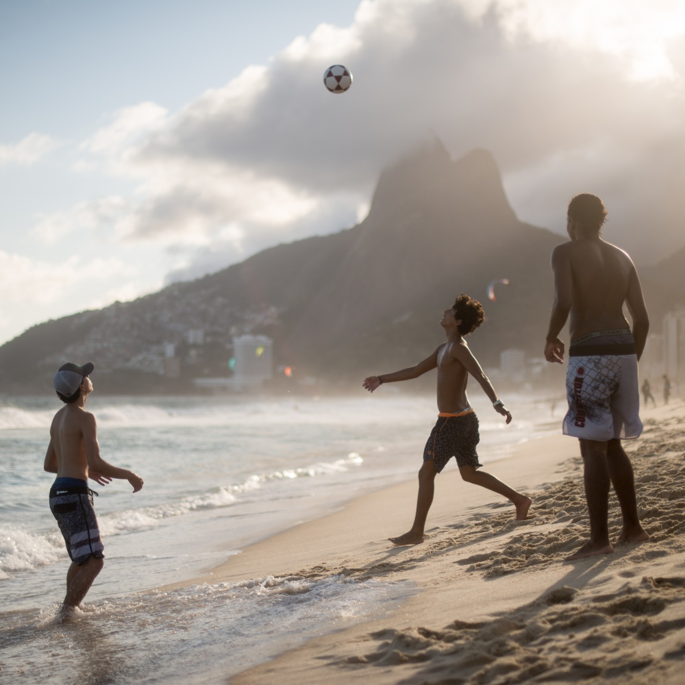 Art and Documentary Photography - Loading Brazil2017IpanemaSunsetSoccerSquare2-3.jpg