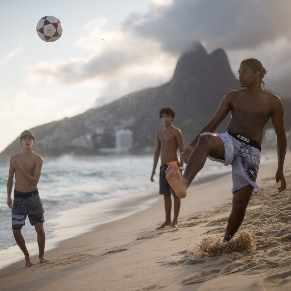 Art and Documentary Photography - Loading Brazil2017IpanemaSunsetSoccerSquare2-4.jpg