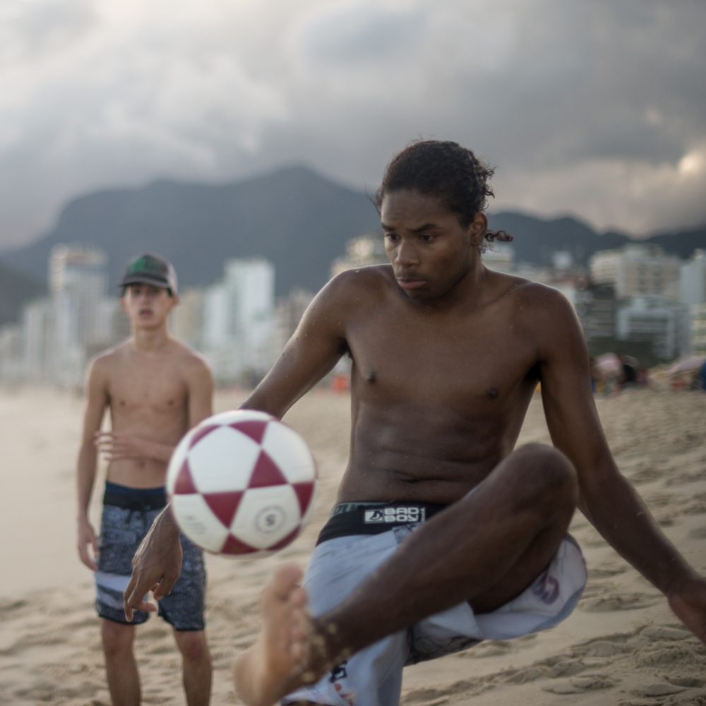 Art and Documentary Photography - Loading Brazil2017IpanemaSunsetSoccerSquare2-5.jpg