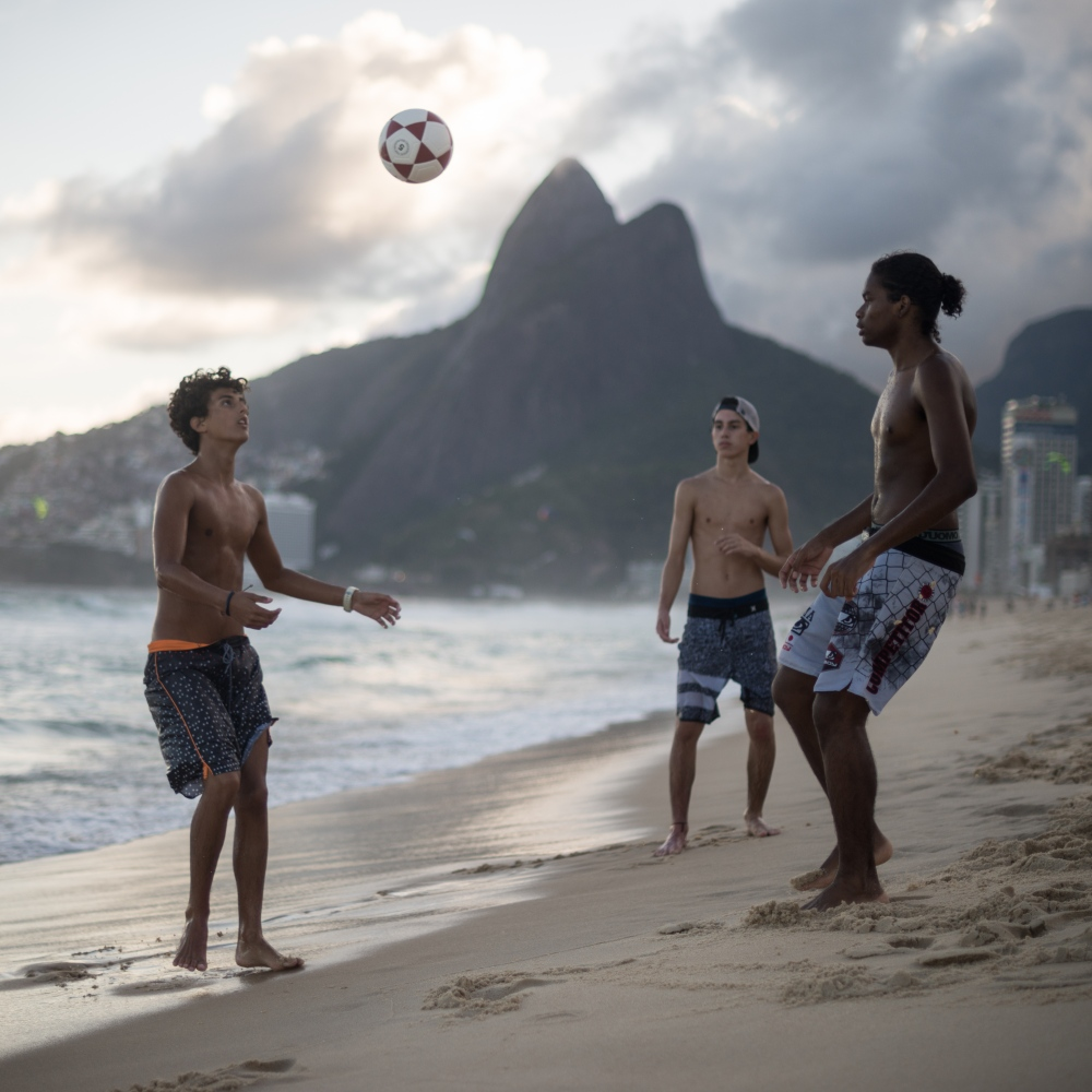 Art and Documentary Photography - Loading Brazil2017IpanemaSunsetSoccerSquare2-6.jpg