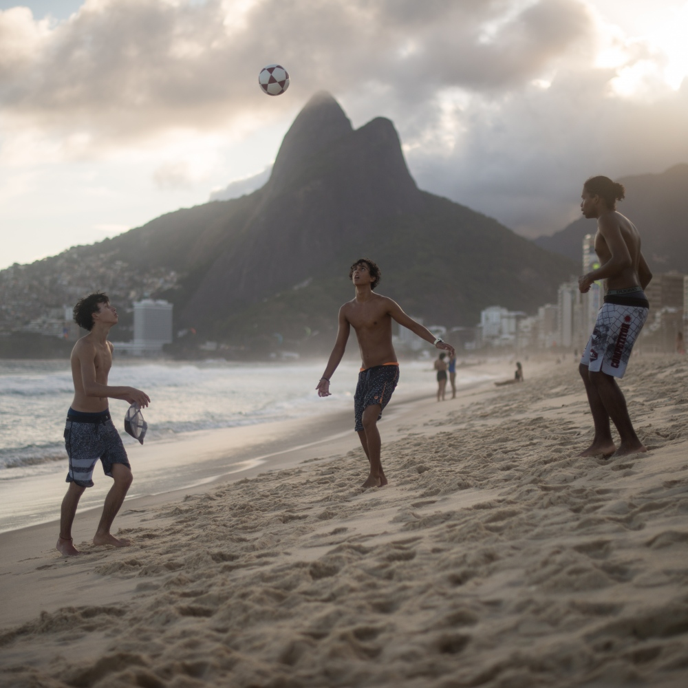 Art and Documentary Photography - Loading Brazil2017IpanemaSunsetSoccerSquare2-7.jpg
