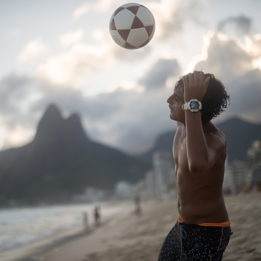 Art and Documentary Photography - Loading Brazil2017IpanemaSunsetSoccerSquare2-11.jpg