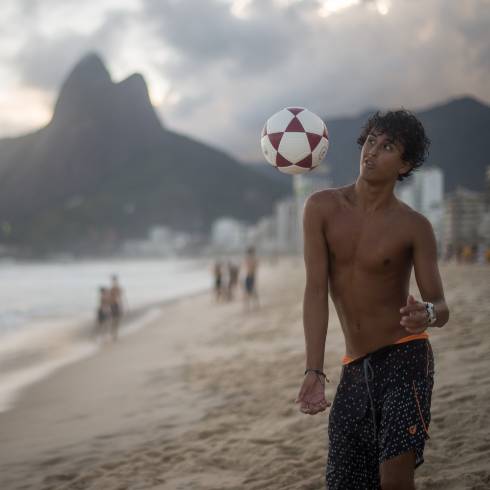 Art and Documentary Photography - Loading Brazil2017IpanemaSunsetSoccerSquare2-12.jpg
