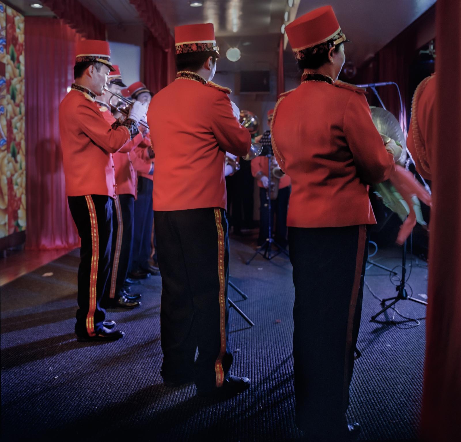 Hua Sheng Band performs at Chinese Community Center, New York City 华声乐队,纽约中华会所