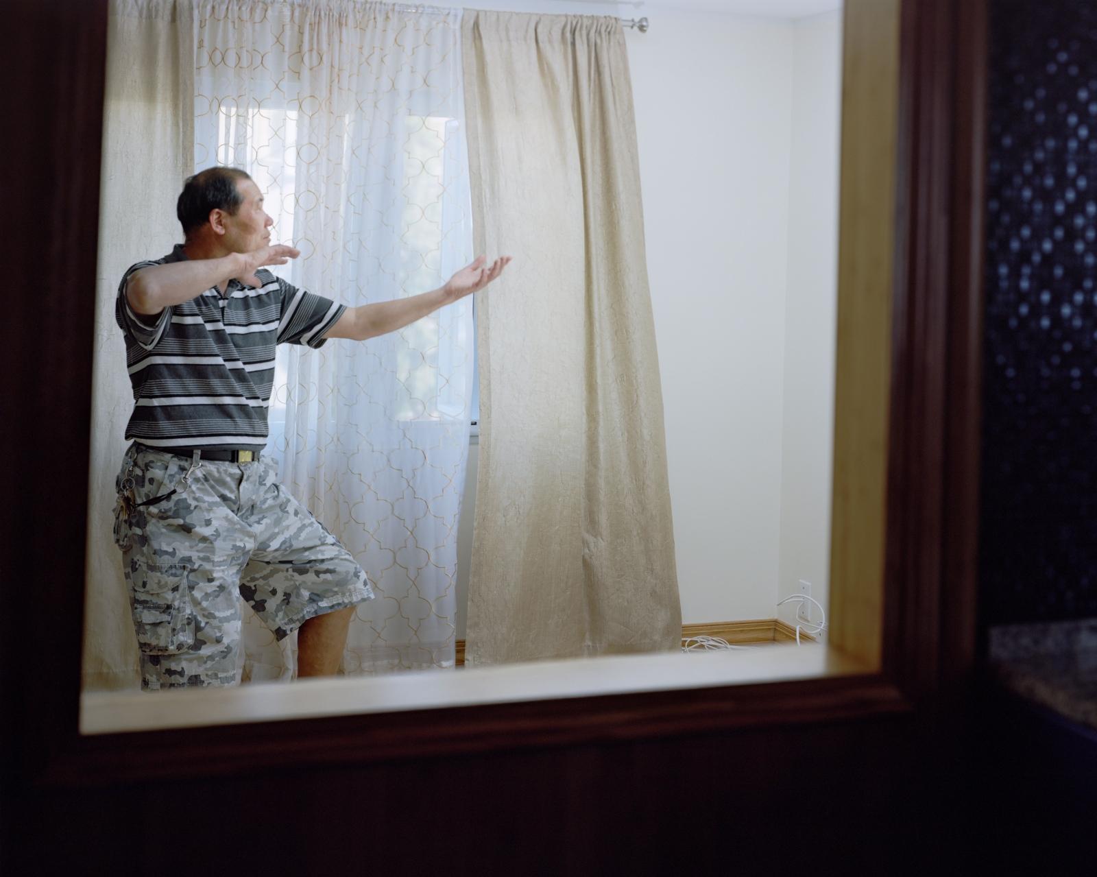 Jiang at home, Staten Island 老江,史丹利岛