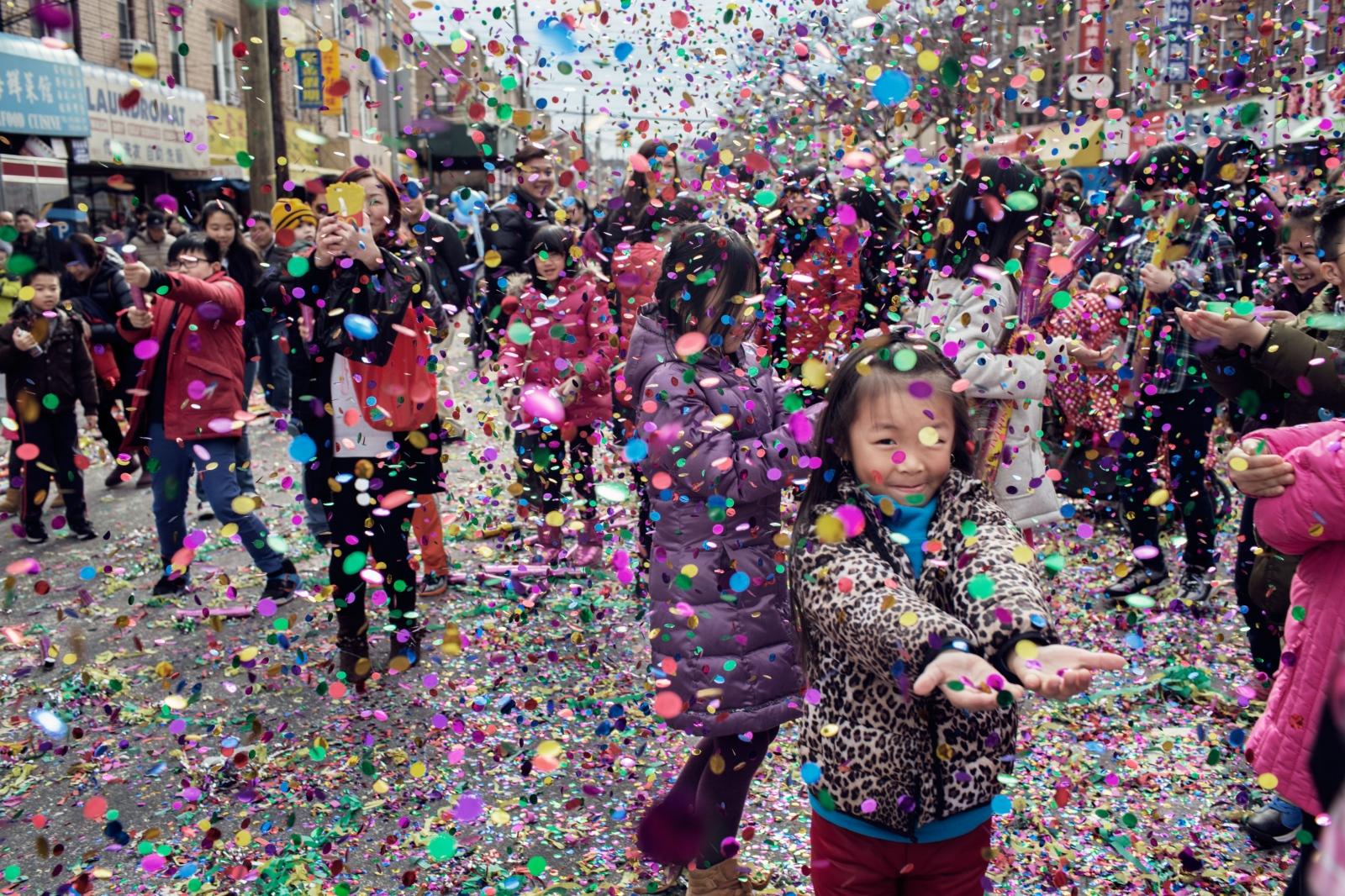 Chinese New Year Parade, Brooklyn 新年游行,布鲁克林
