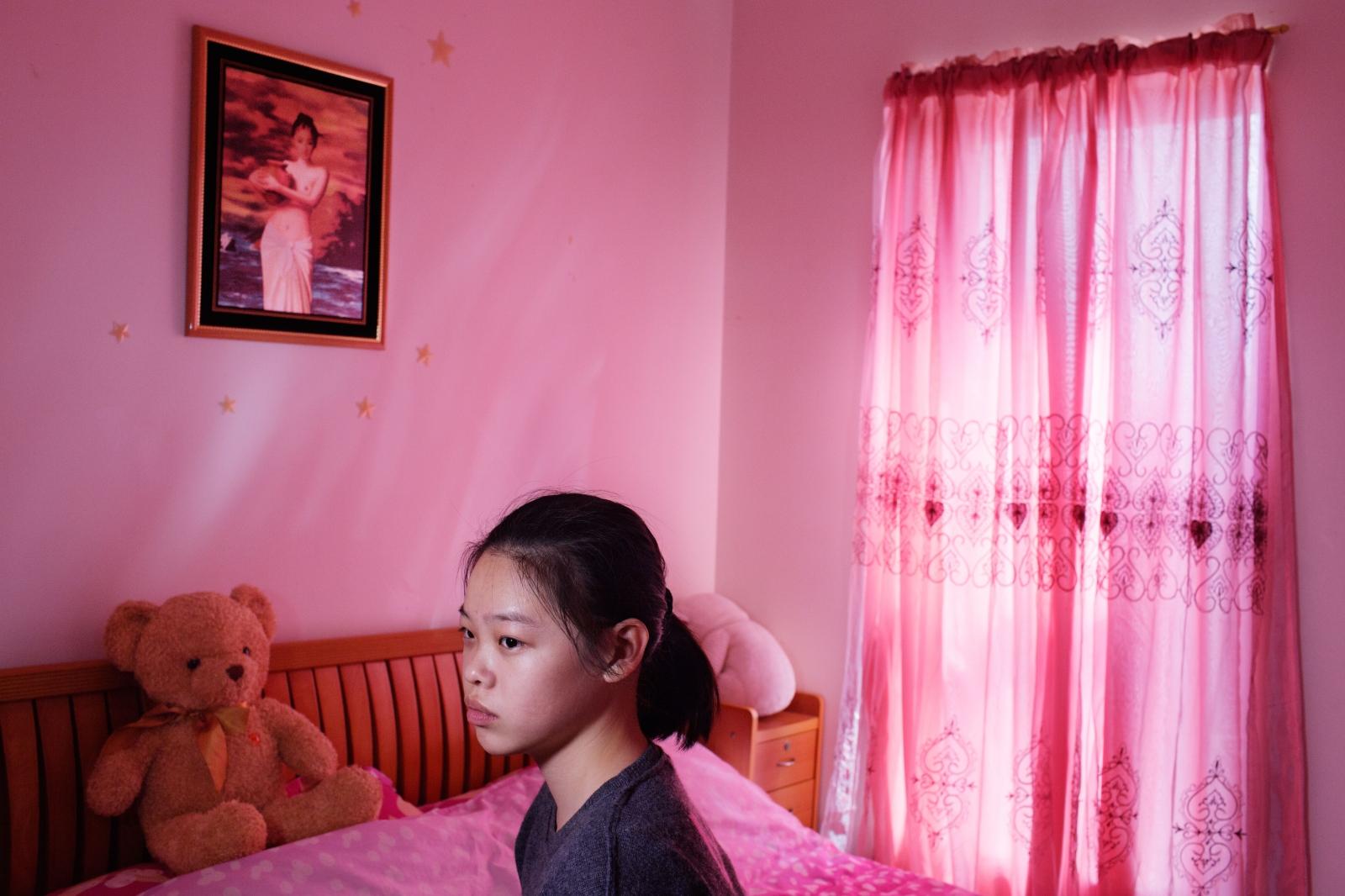 Jennifer Liu at home, Brooklyn 珍妮弗,八大道布鲁克林