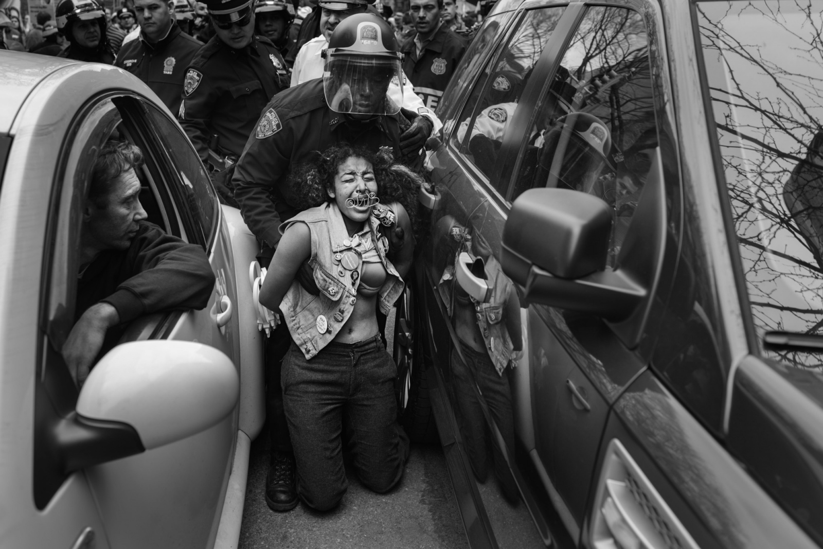 A young girl named Stevie is arrested on a march through the Lower East Side.