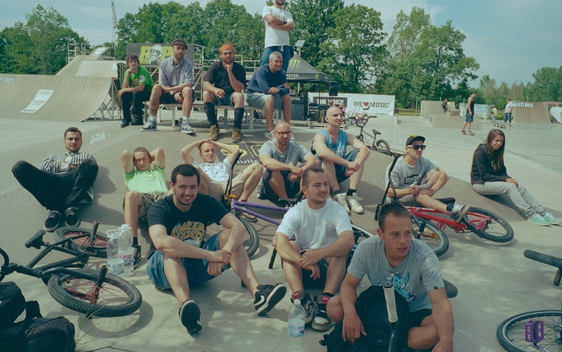 BMX day - the whole crew
