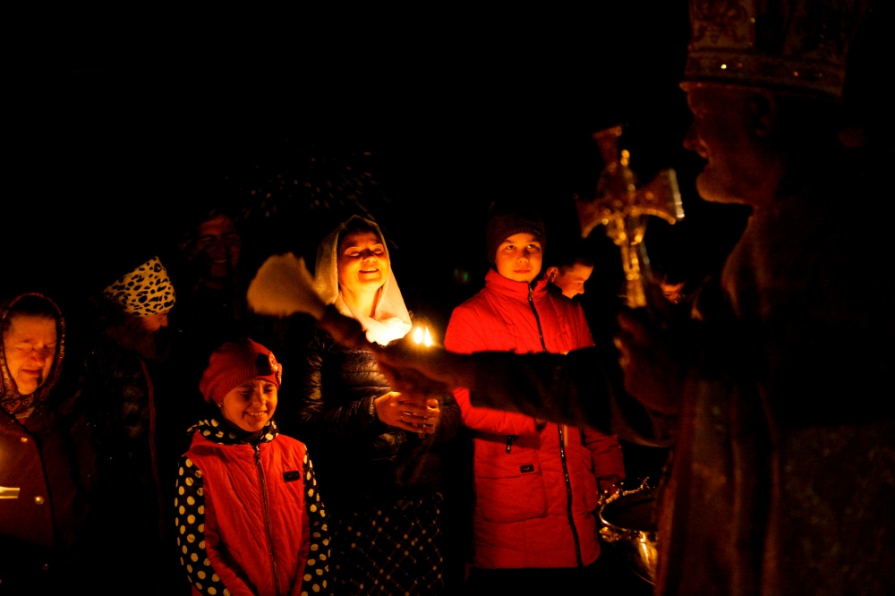 Photography image - Easter blessings in Moldova
