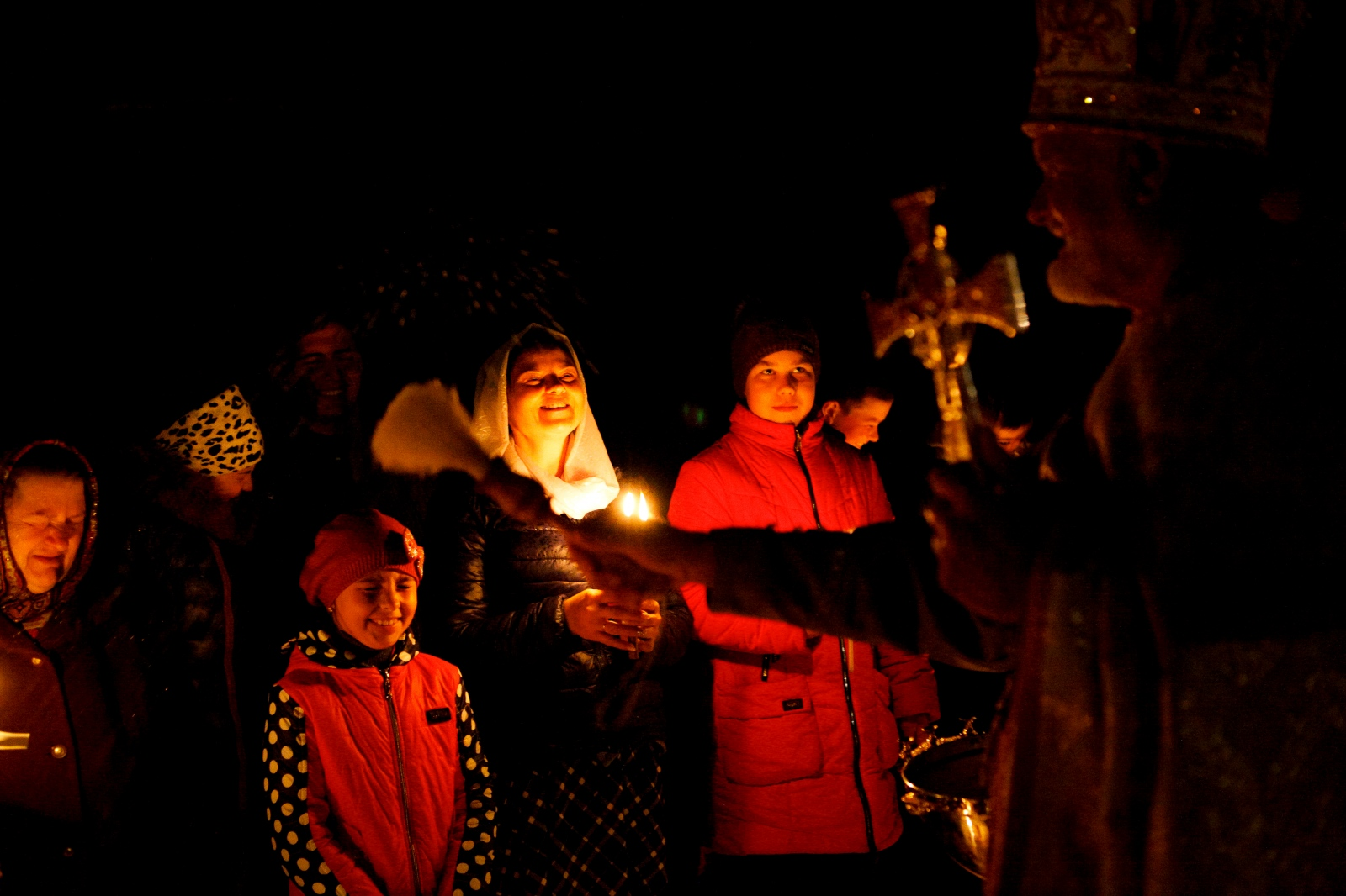 Easter blessings in Moldova