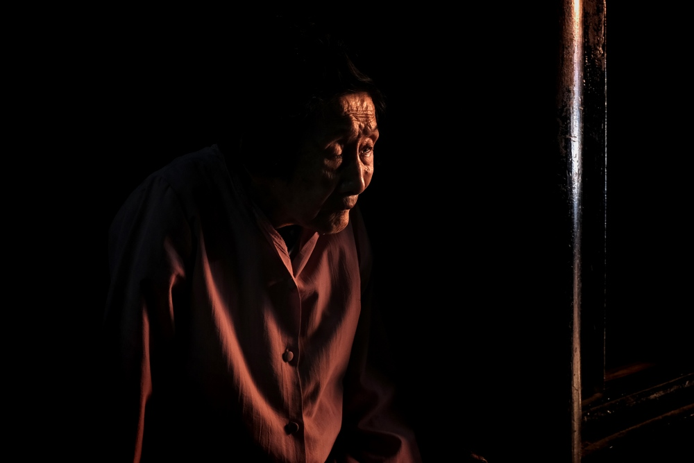 Photography image - Elderly woman (Hoi An, Vietnam)