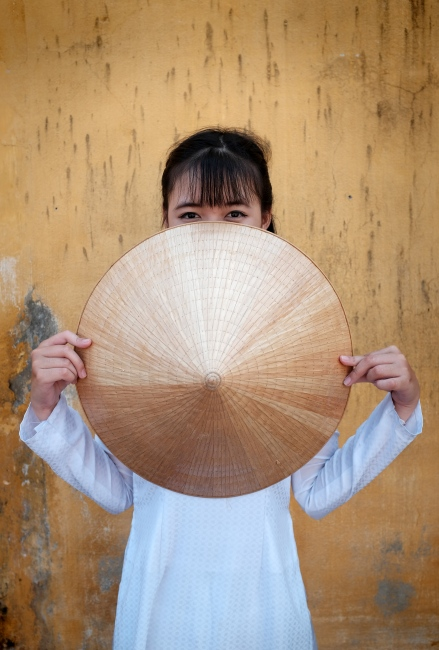 Photography image - My hat has one corner (Hoi An, Vietnam)