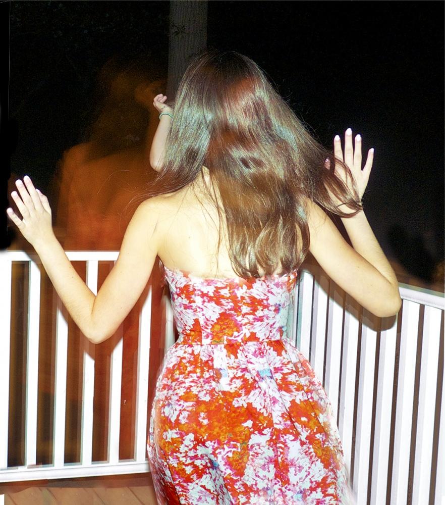 Art and Documentary Photography - Loading lianne_running_red_dress.jpg