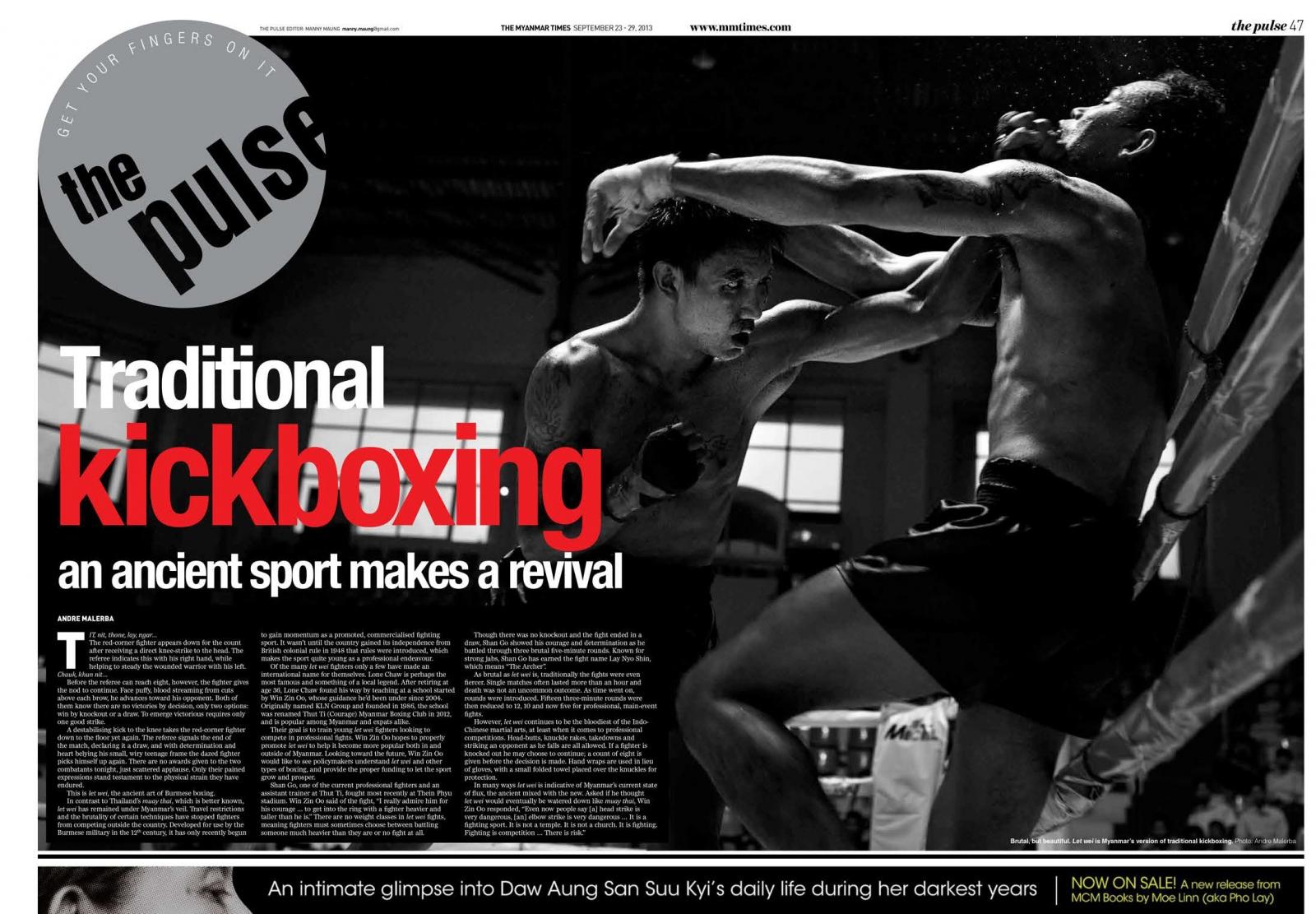 Myanmar Times, September 2013.