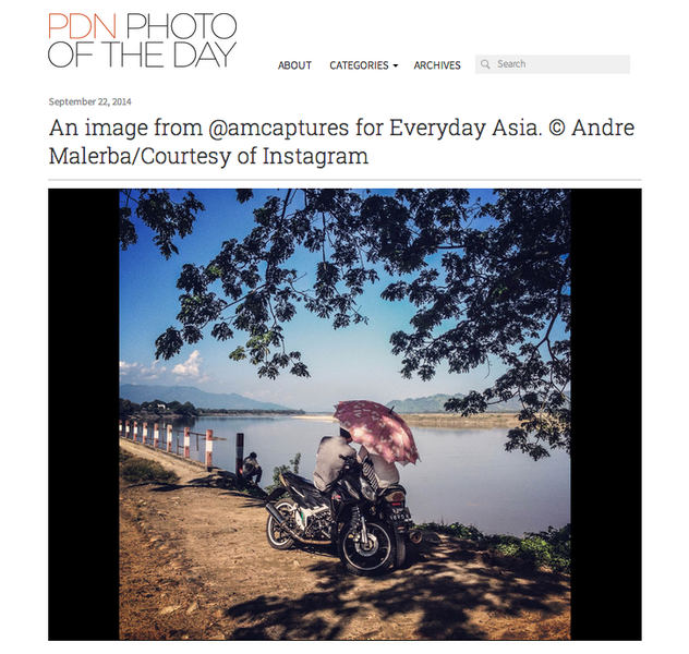 PDN Online, September 2014.