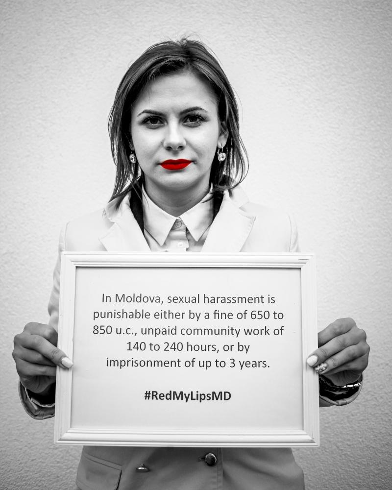 În Moldova, hărţuirea sexuală se...