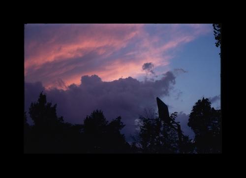 Moving sky