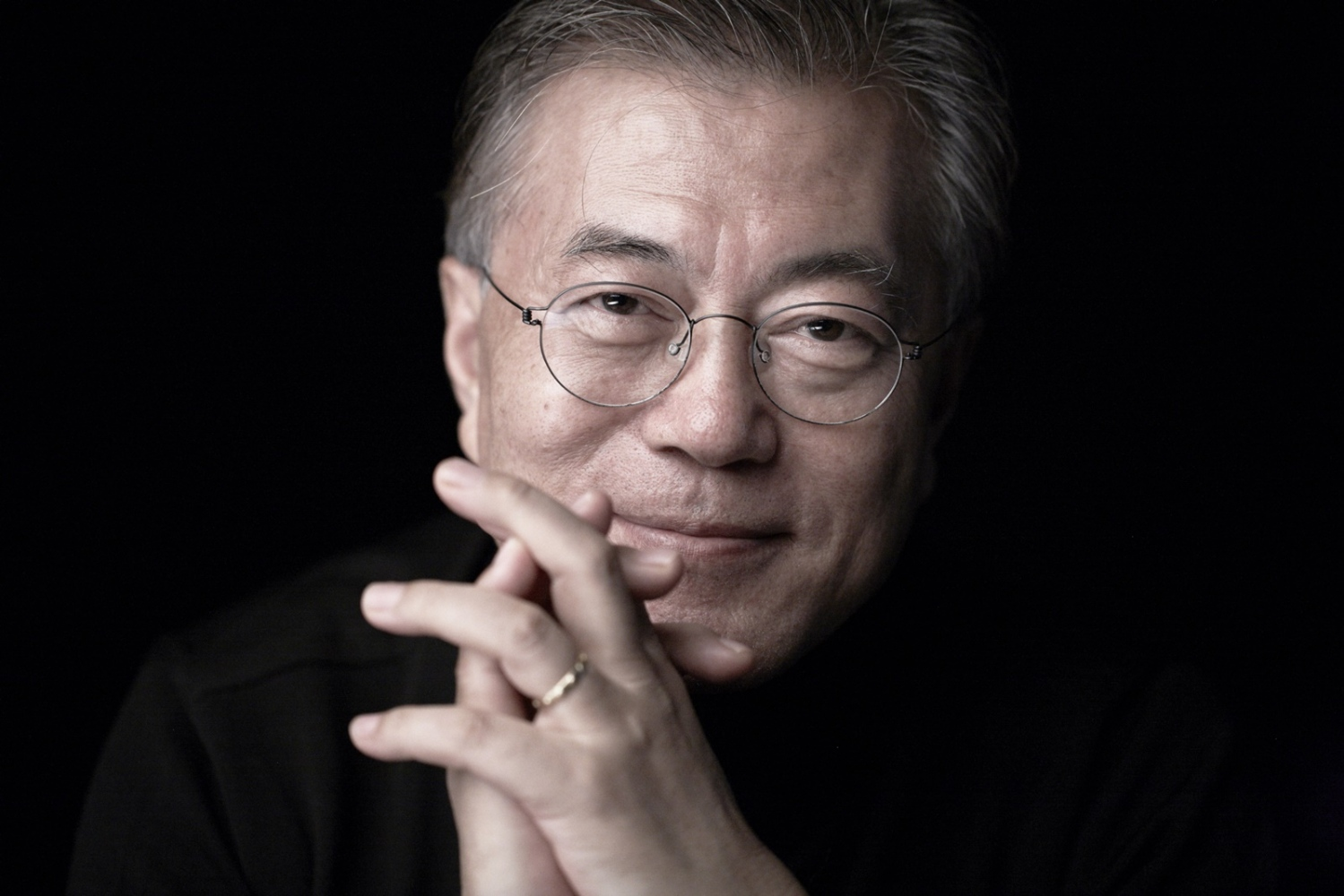 Jae-In Moon, C urrent President of South Korea   Moon was elected after the impeachment of his predecessor, Park Geun-hye.